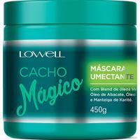 Máscara Umectante Lowell Cacho Mágico 450G - Feminino-Incolor