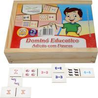Dominó Educativo Educativo Adição Com Figuras - Fundamental