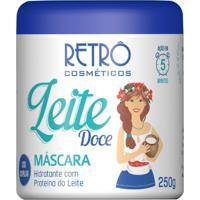 Máscara Hidratante Retrô Cosméticos Leite Doce 250G