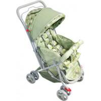 Carrinho De Bebê Passeio Junior Colorbaby Bege E Verde
