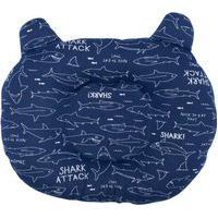 Travesseiro De Bebê Anatômico Shark Marinho