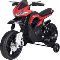 Moto Big Trail Vermelho 6V Belfix - Tricae