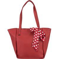 Shopping Bag Stz Com Laço Vermelho -