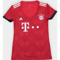 Netshoes  Camisa Bayern De Munique Home 2018 S N° - Torcedor Adidas  Feminina - Feminino ff412cd7b2d56