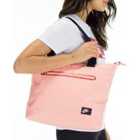 Bolsa Nike Tech Tote - Feminina - Rosa Cla/Azul Esc