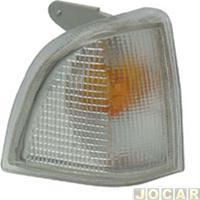Lanterna Dianteira - Hawk Lanternas - Corcel - Del-Rey - Pampa - Belina 1985 Em Diante - Encaixe Arteb - Cristal (Branca) - Lado Do Passageiro - Cada (Unidade) - 31514