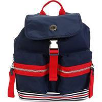 Bolsa Tommy Hilfiger Youthful Nylon Mini Backpack Feminina - Feminino-Azul