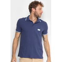 Camisa Polo Gonew Argentina Masculina - Masculino-Marinho