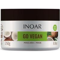 Máscara Capilar Inoar Go Vegan Hidratação E Nutrição - 250G - Unissex-Incolor