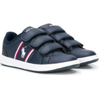 Ralph Lauren Kids Touch Strap Sneakers - Azul