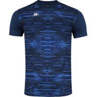 Camisa Kappa Jenner - Masculina - Azul Escuro