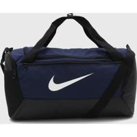 Bolsa Nike Brsla S Duff - 9.0 (41L) Azul-Marinho - Kanui