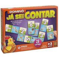 Jogo Educativo Dominó Já Sei Contar - Grow - Modelo 2 Grow01694