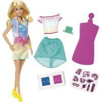 Barbie Crayola Criações Com Carimbos - Mattel - Tricae