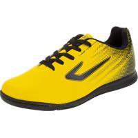 Chuteira Infantil Unissex Futsal Strike Topper - Tp01300004 Amarelo 28