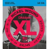 Encordoamento D'Addario Guitarra Exl145 - 0.12/0.54