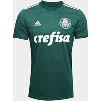 Camisa Palmeiras I 2018 S/N° Torcedor Adidas Masculina - Masculino