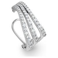 Piercing Ouro Branco E Diamantes