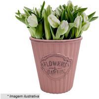 Cachepot Flowers & Garden- Rosa- 14,7Xã˜14,1Cm- Uurban