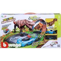Pista De Percurso E Veículo - Fresh Metal - Dino Pista Race Chase - Maisto