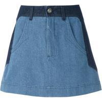 Andrea Bogosian Saia Jeans Paky - Azul