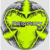 9aa29187eee1b Bola De Futsal Penalty S11 500 R5 Ix - Branco Amarelo