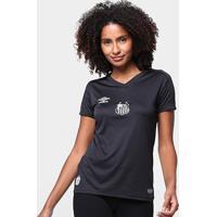 Camisa De Goleiro Santos 19/20 S/N° Torcedor Umbro Feminina - Feminino