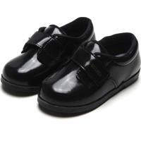 Sapato Pimpolho Menino Verniz Preto