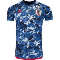 Camisa Japão I 2019 Adidas - Jogador - Azul Escuro