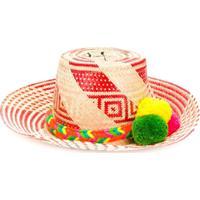 Folkloore Colombia Hat - Vermelho
