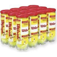 Bola De Tênis Wilson Championship - Pack Com 12 Tubos - Unissex