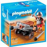 Playmobil - History - Soldado Romano Com Besta - 5392 - Sunny - Unissex