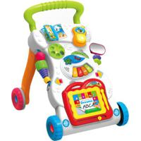 Andador Infantil De Atividades Com Acessórios Indicado Para +6 Meses Multikids - Br1090 Br1090
