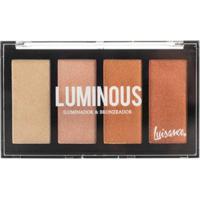 Paleta Iluminador E Bronzeador Luisance - Luminous L2015 - Unissex-Incolor