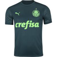 Camisa Do Palmeiras Iii 2020 Puma - Masculina - Verde Esc/Verde Cla