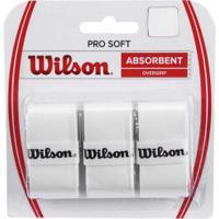 Overgrip Wilson Over Pro Soft - Branco