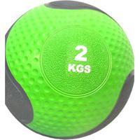 Medicine Ball 2Kg Crossfit Treino Funcional Wct Fitness - Unissex