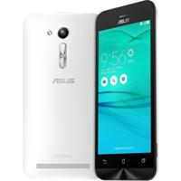 "Smartphone Asus Zenfone Go - 16Gb - 3G - 8Mp - Tela 5"" - Android 5 - Desbloqueado - Branco"