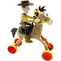 Boneco Woody E Cavalo Bala No Alvo Galopantes - Toy Story - Toyng Toyng022747