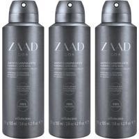 Combo Desodorante Zaad Go : 3 Unidades