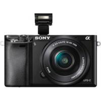 Câmera Mirrorless Preto Ilce-6000L, 24,3Mp, Wifi, Lente 16-50Mm Sony