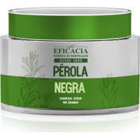 Pérola Negra Charcoal Scrub - Gel Esfoliante 30 Gramas