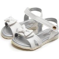 Sandália Klin Flat Baby Branco