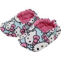 Pantufa Tatibella Baby Gatinha Rosa E Azul
