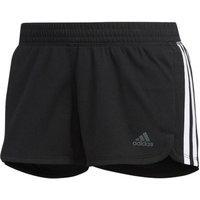 Shorts Adidas Pacer 3 Listras Knit Feminino