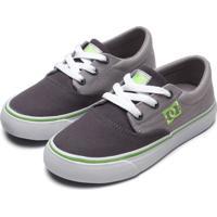 Tênis Dc Shoes Menino Flash 2 Tx La Cinza