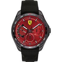 Relógio Scuderia Ferrari Masculino Borracha Preta - 830682