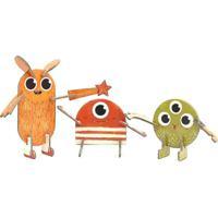 Quebra Cabeça 3D Personagens Monstros Krooom Laranja