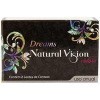 Kit Natural Vision Dreams Anual - Sem Grau - Lentes De Contato