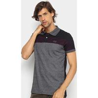 Camisa Polo Ecko Piquet Especial Masculina - Masculino-Preto